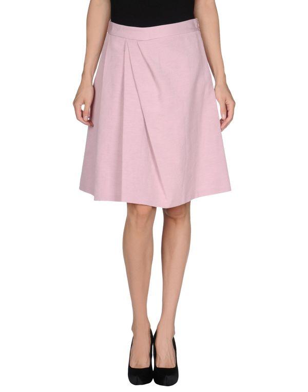 粉红色 MOSCHINO CHEAPANDCHIC 及膝半裙