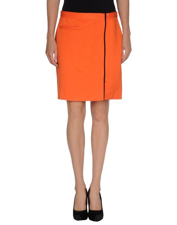 橙色 MOSCHINO CHEAPANDCHIC 超短裙