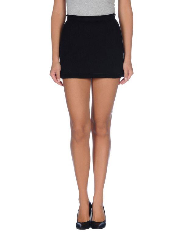 黑色 DOLCE & GABBANA 超短裙
