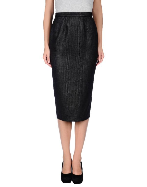 黑色 GAETANO NAVARRA 半长裙