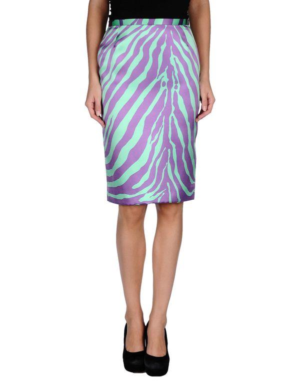 紫色 DOLCE & GABBANA 及膝半裙
