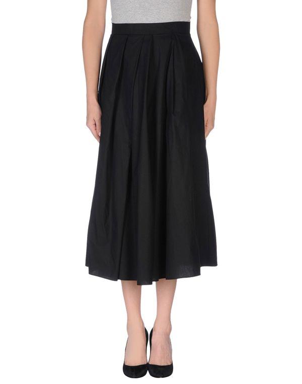 黑色 ANTONIO MARRAS 半长裙