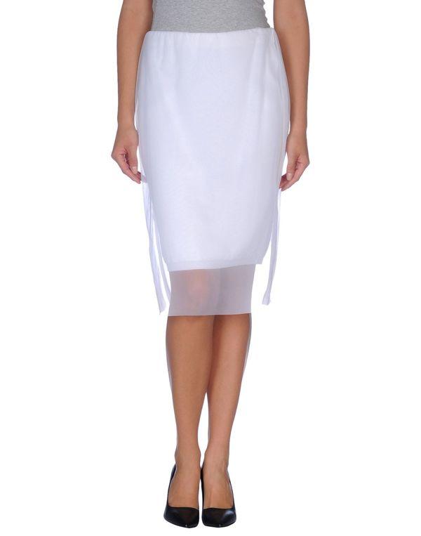 白色 ANTONIO MARRAS 半长裙