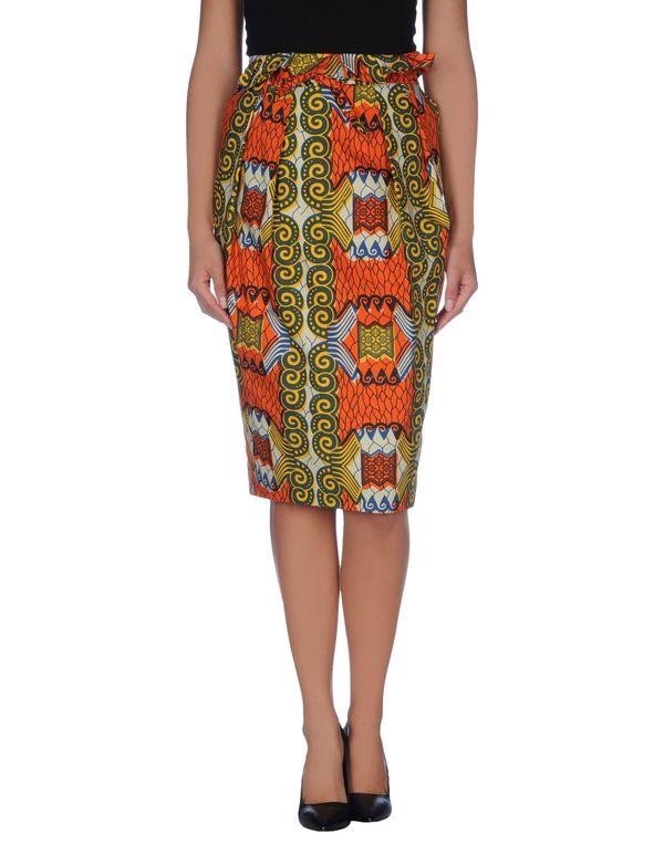 橙色 STELLA JEAN 半长裙