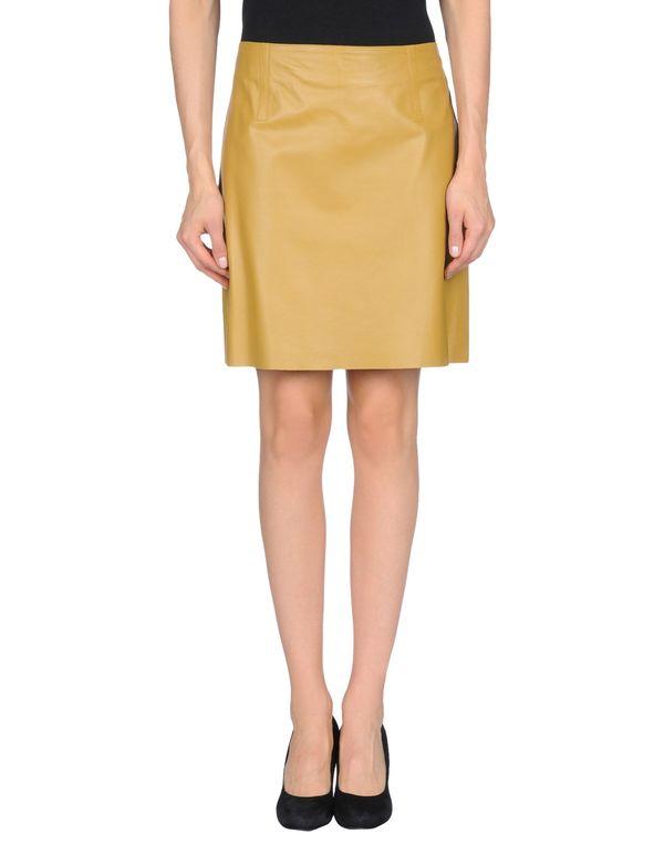 赭石色 PAULE KA 及膝半裙