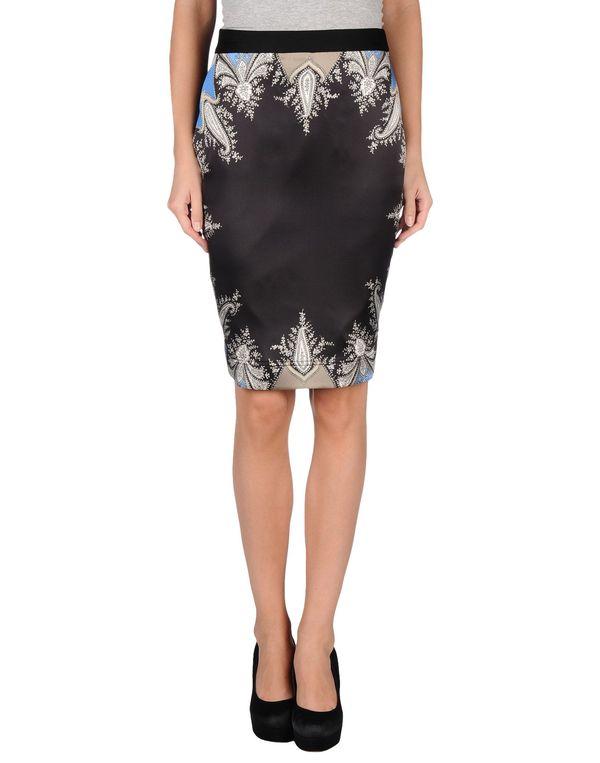 黑色 GIVENCHY 及膝半裙