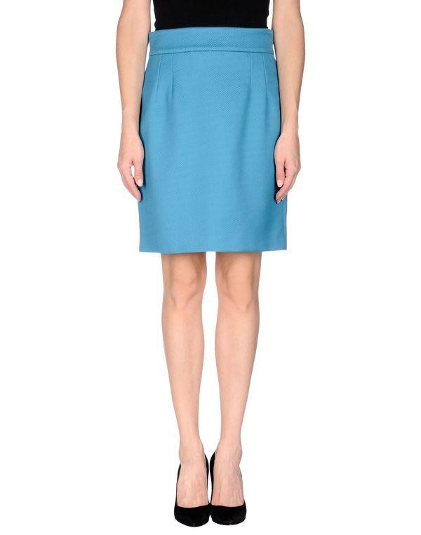 粉蓝色 DOLCE & GABBANA 及膝半裙