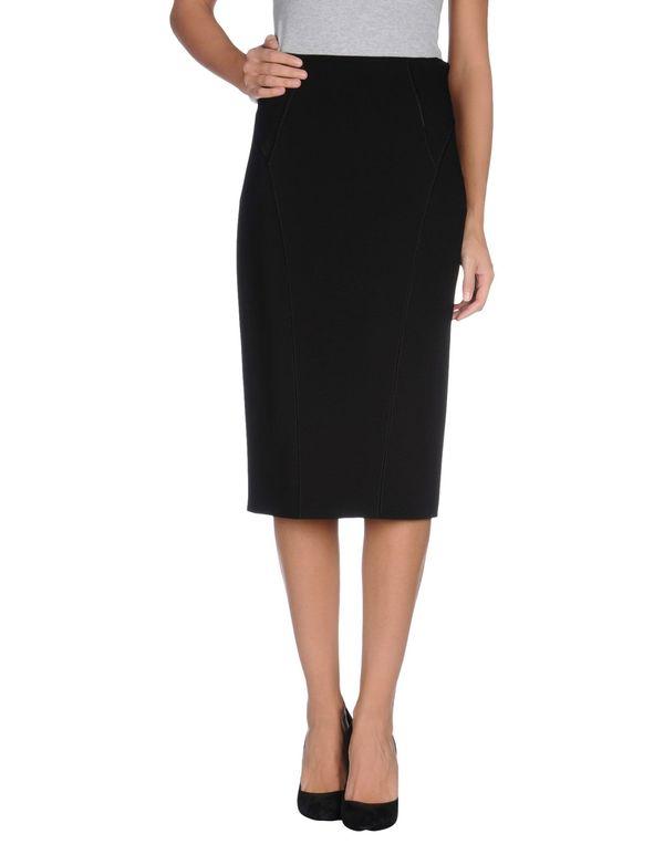黑色 PLEIN SUD 半长裙