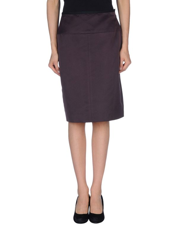 紫红 MARNI 及膝半裙