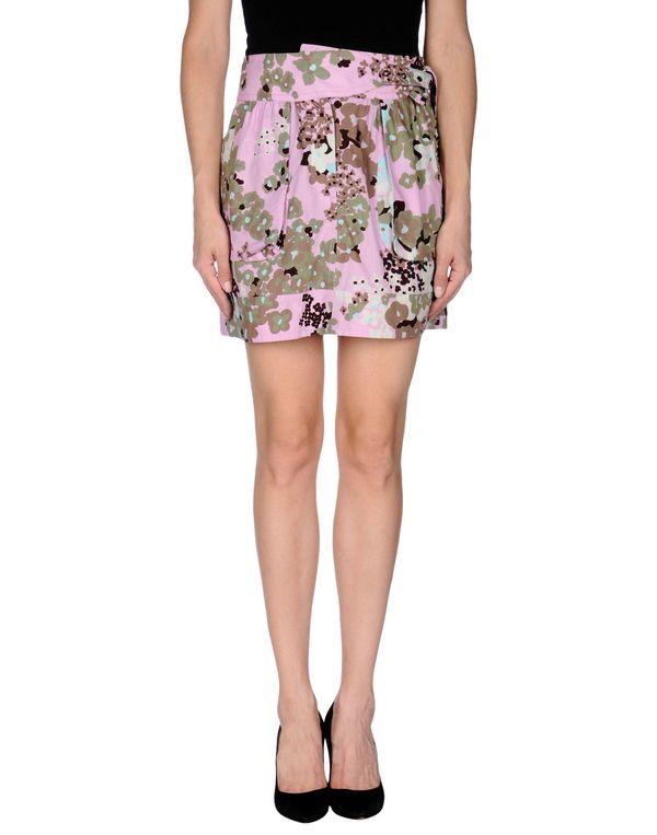 浅紫色 M MISSONI 超短裙