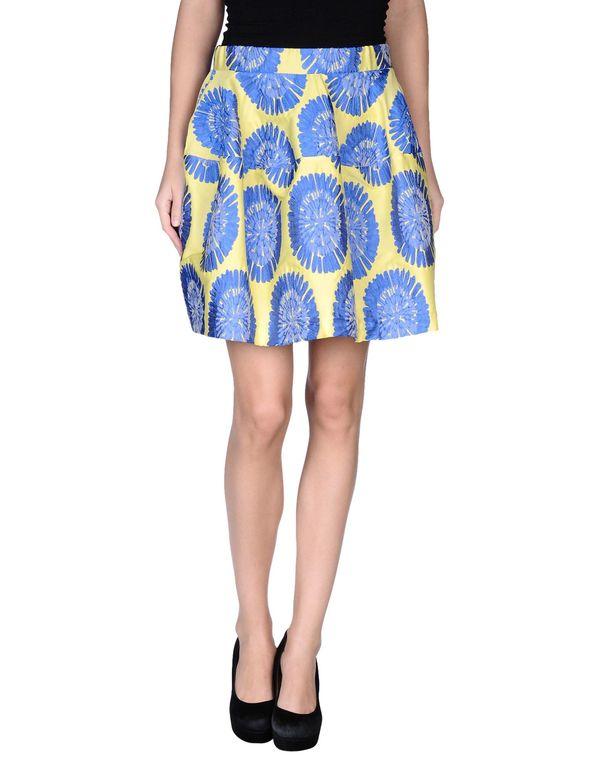 蓝色 P.A.R.O.S.H. 及膝半裙