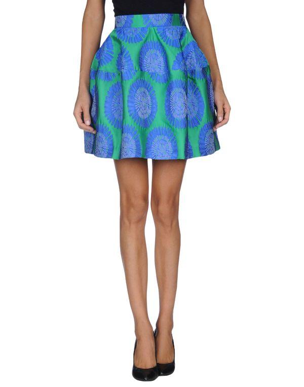 绿色 P.A.R.O.S.H. 及膝半裙