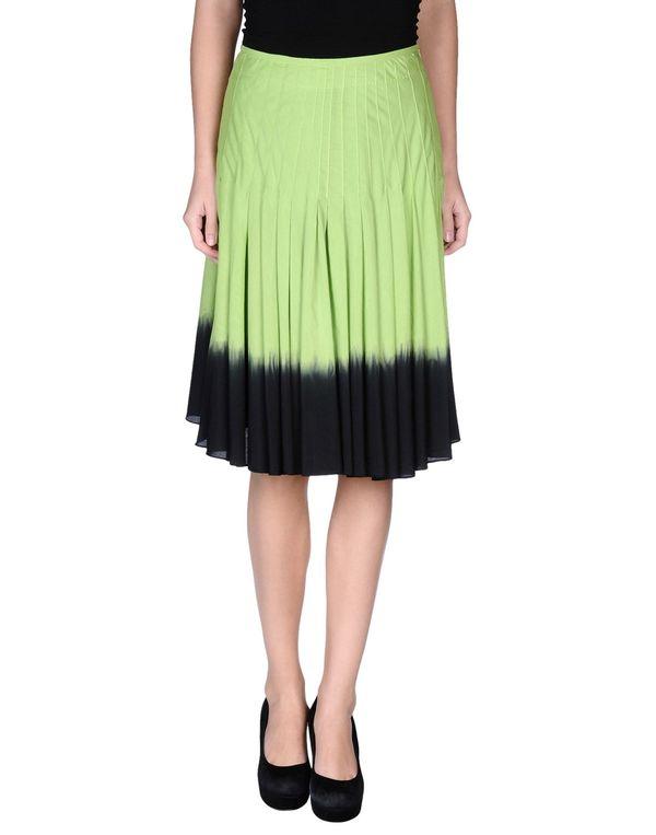 浅绿色 MOSCHINO CHEAPANDCHIC 及膝半裙