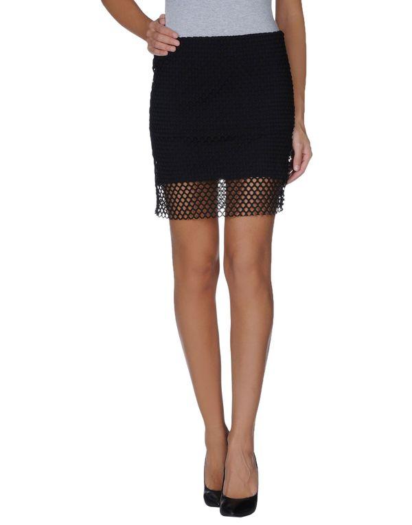 黑色 CHEAP MONDAY 及膝半裙