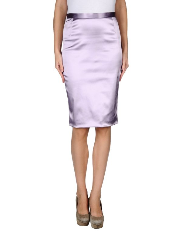 丁香紫 DOLCE & GABBANA 及膝半裙