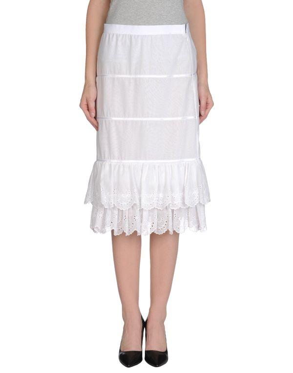 白色 DOLCE & GABBANA 半长裙