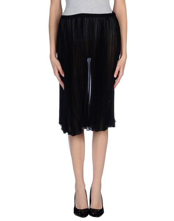 黑色 BLUMARINE 及膝半裙