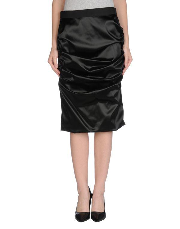 黑色 DOLCE & GABBANA 及膝半裙