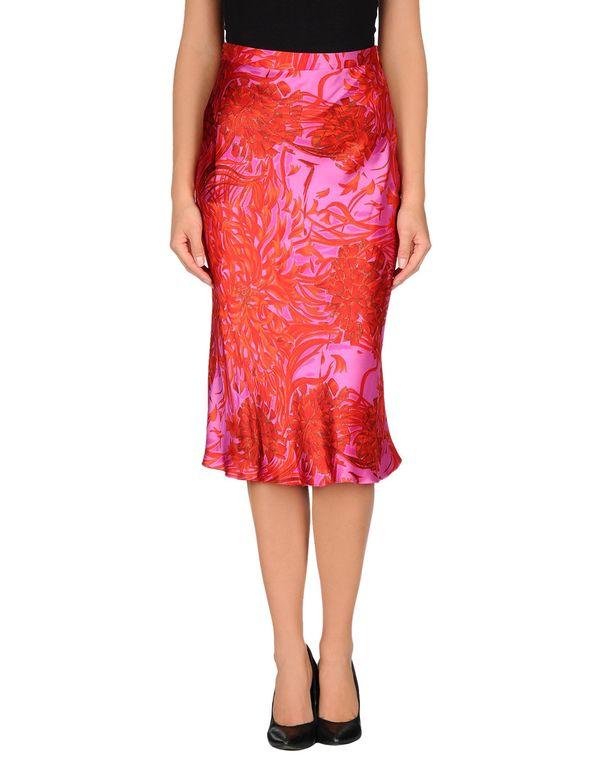 红色 ANNA MOLINARI 半长裙