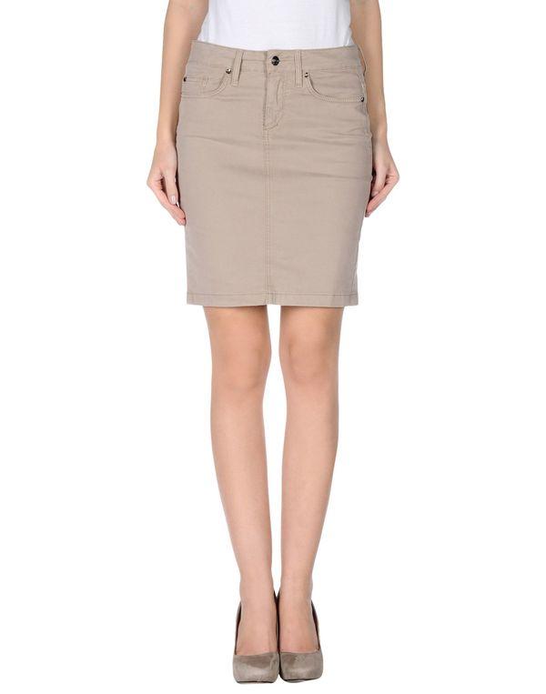 沙色 LIU •JO JEANS 及膝半裙