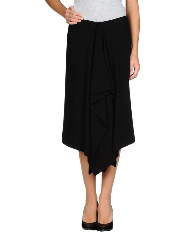 黑色 LANVIN 半长裙