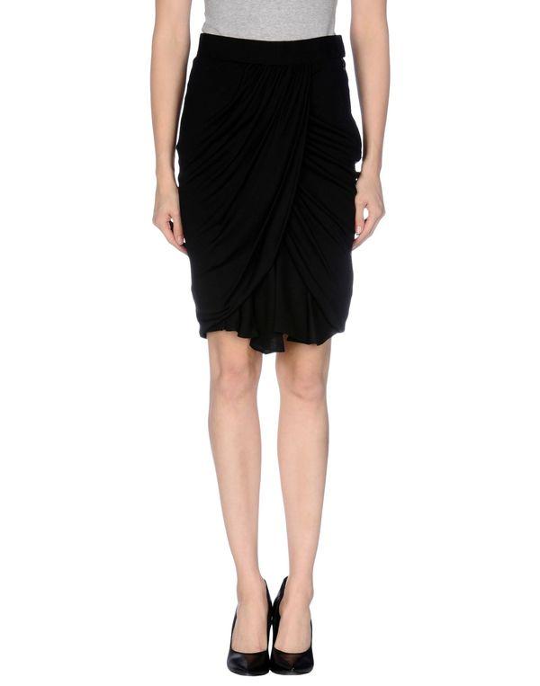 黑色 GIAMBATTISTA VALLI 及膝半裙