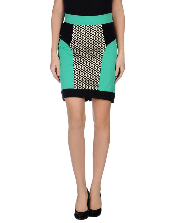 浅绿色 MILLY 及膝半裙