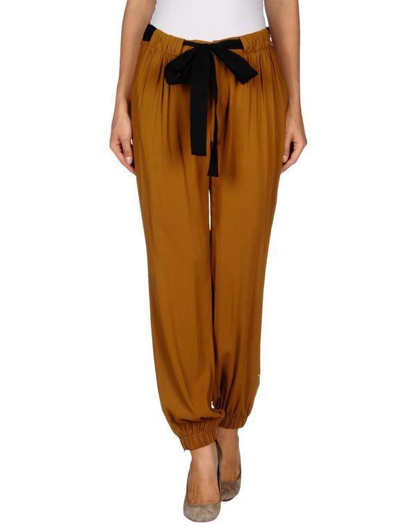 棕色 REDVALENTINO 裤装
