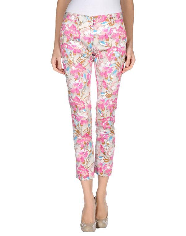 粉红色 MAURO GRIFONI 裤装