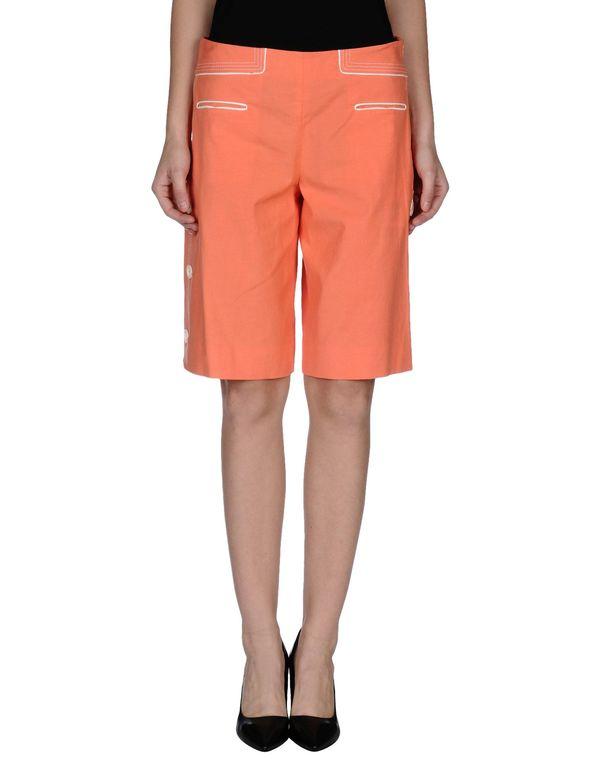 橙色 M MISSONI 及膝半裙