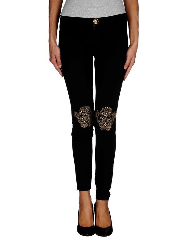 黑色 PHILIPP PLEIN COUTURE 裤装