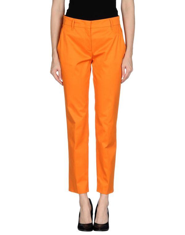 橙色 PRADA 裤装