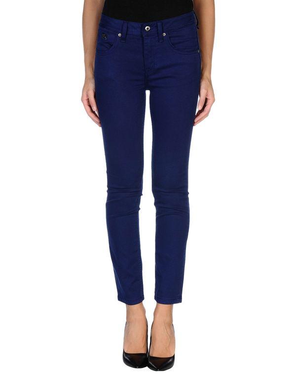 蓝色 BURBERRY BRIT 裤装
