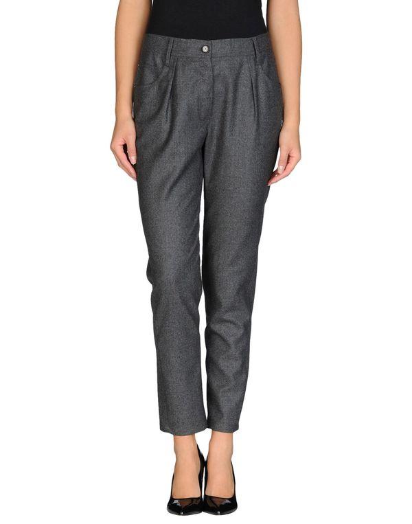 铅灰色 BRUNELLO CUCINELLI 裤装