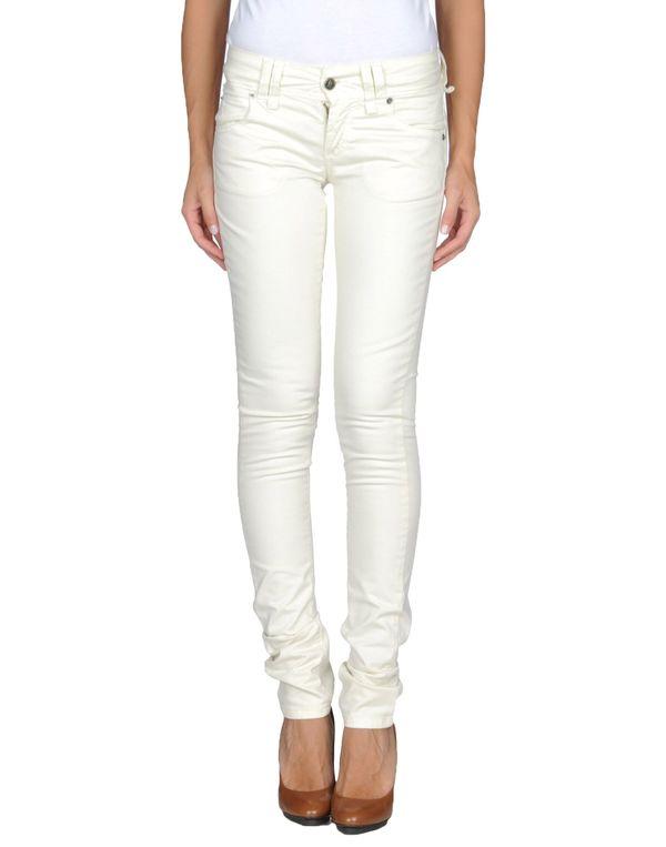 象牙白 GALLIANO 裤装