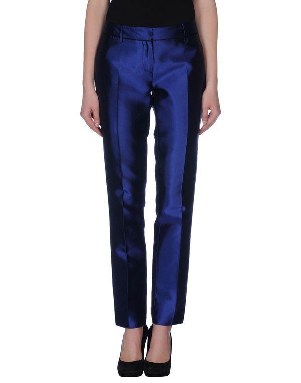 蓝色 AQUILANO-RIMONDI 裤装