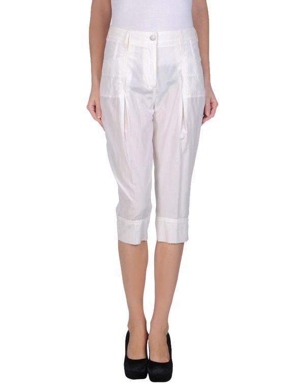 白色 PINKO 七分裤
