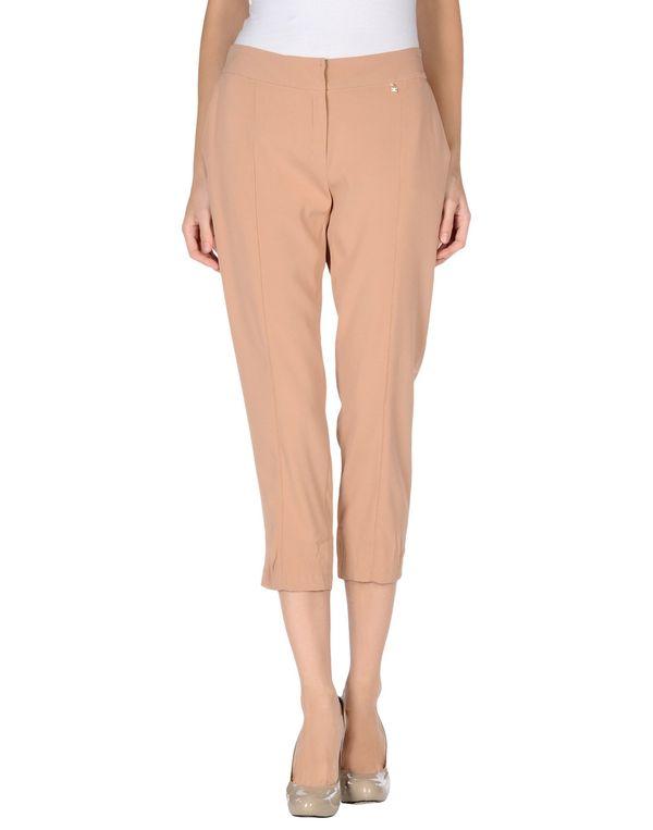 沙色 ELISABETTA FRANCHI 24 ORE 裤装