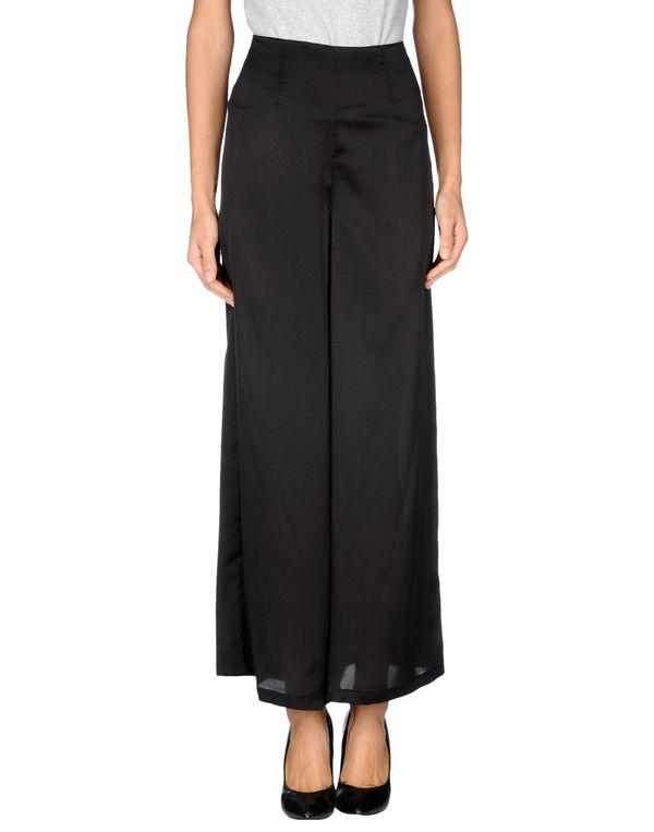黑色 POEMS 裤装