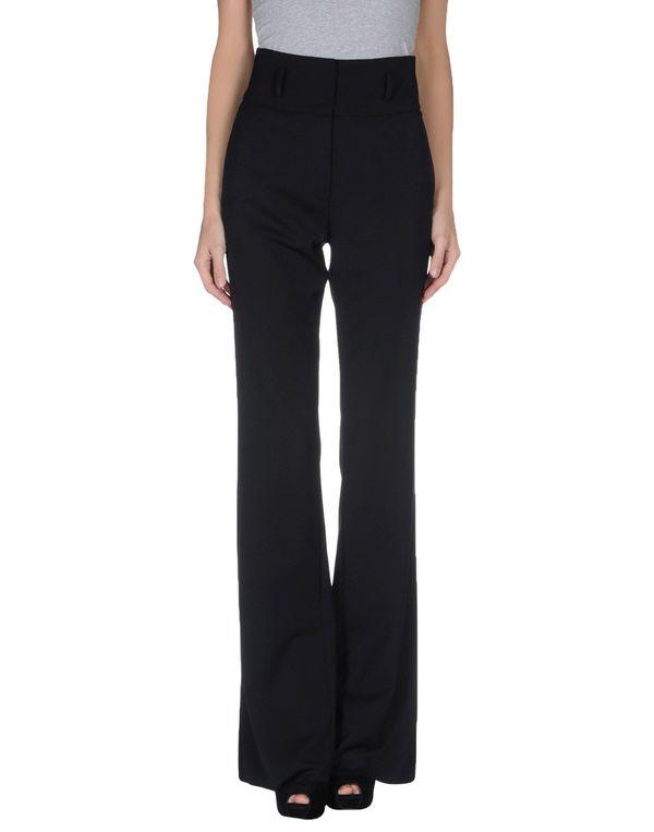 黑色 FRANCESCO SCOGNAMIGLIO 裤装
