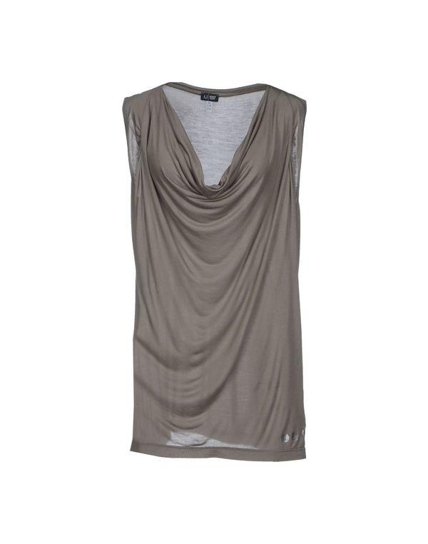 灰色 ARMANI JEANS T-shirt