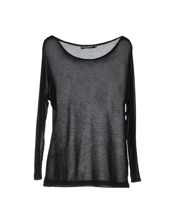 黑色 DOLCE & GABBANA T-shirt