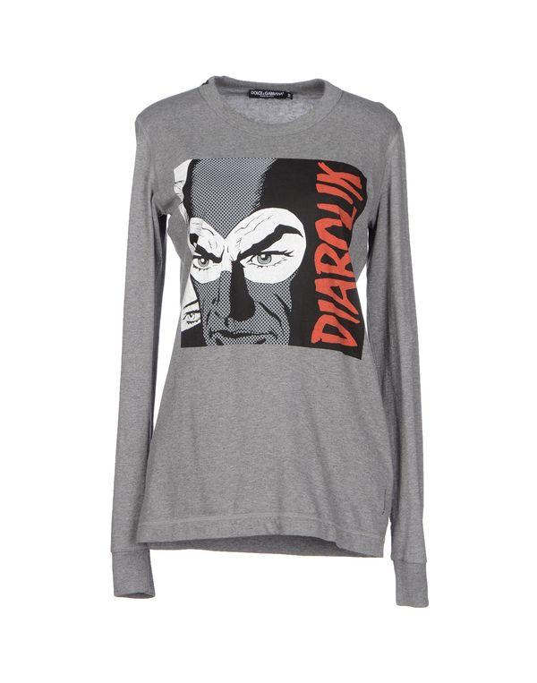 灰色 DOLCE & GABBANA T-shirt