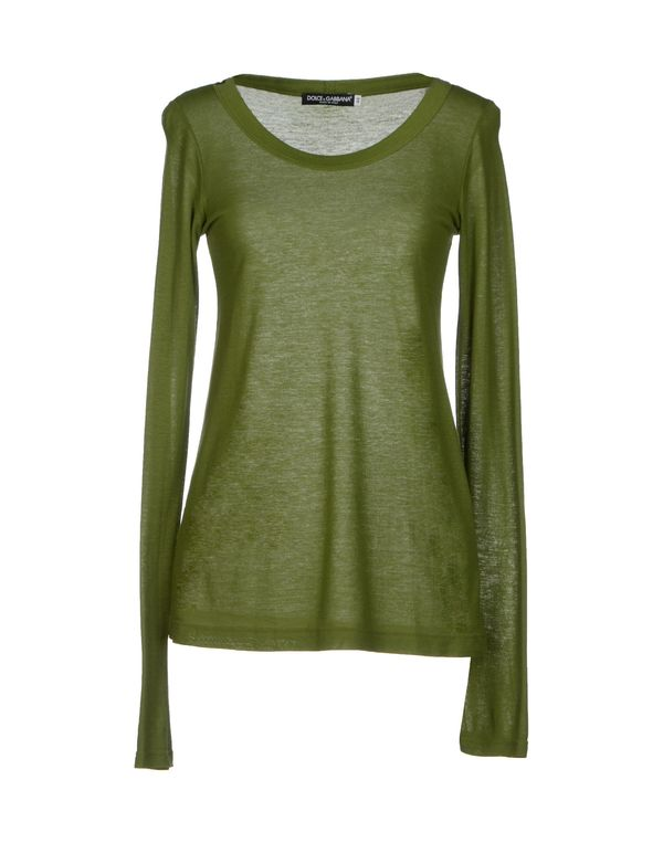 绿色 DOLCE & GABBANA T-shirt