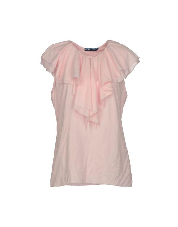 粉红色 RALPH LAUREN 上衣
