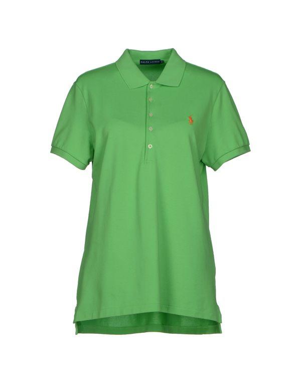 绿色 RALPH LAUREN Polo衫