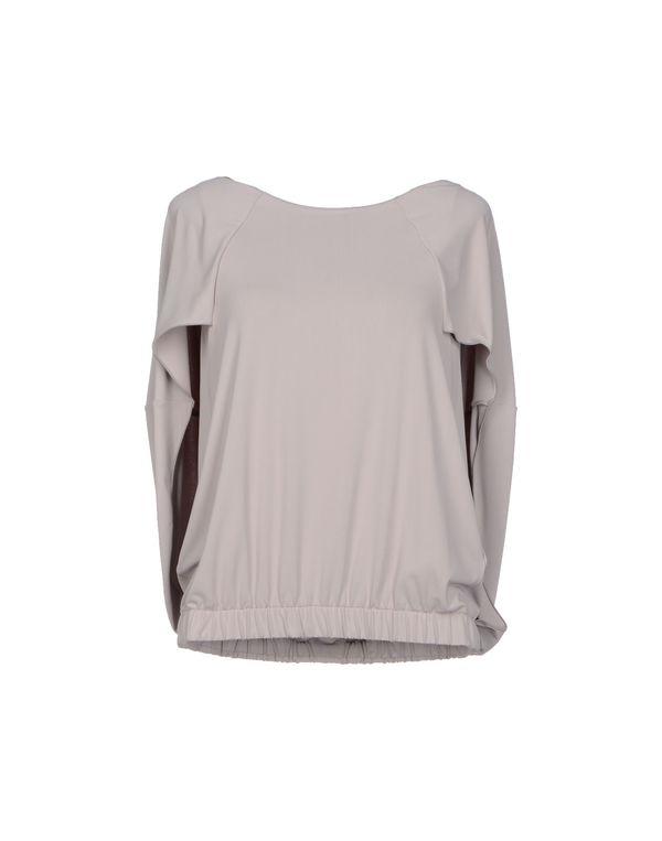 淡灰色 ARMANI COLLEZIONI T-shirt