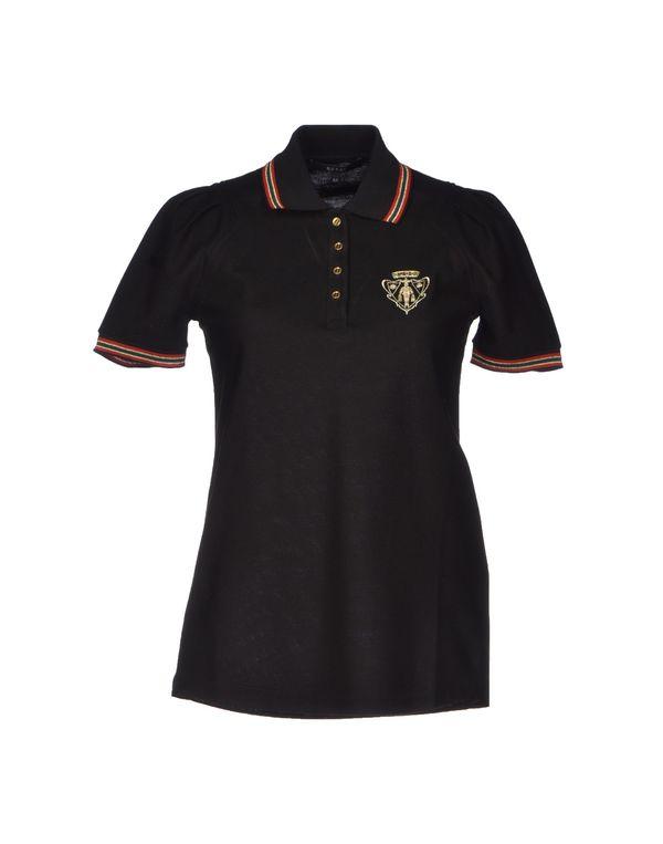 黑色 GUCCI Polo衫