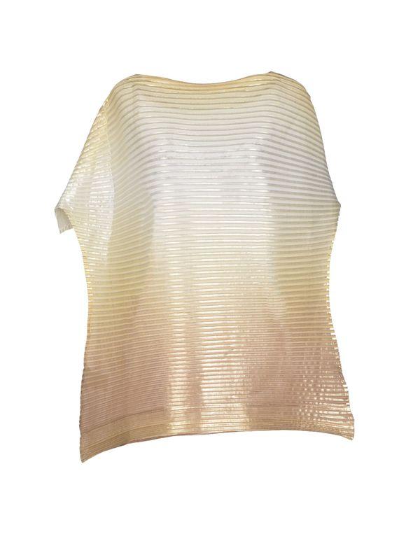 米色 ISSEY MIYAKE 女士衬衫
