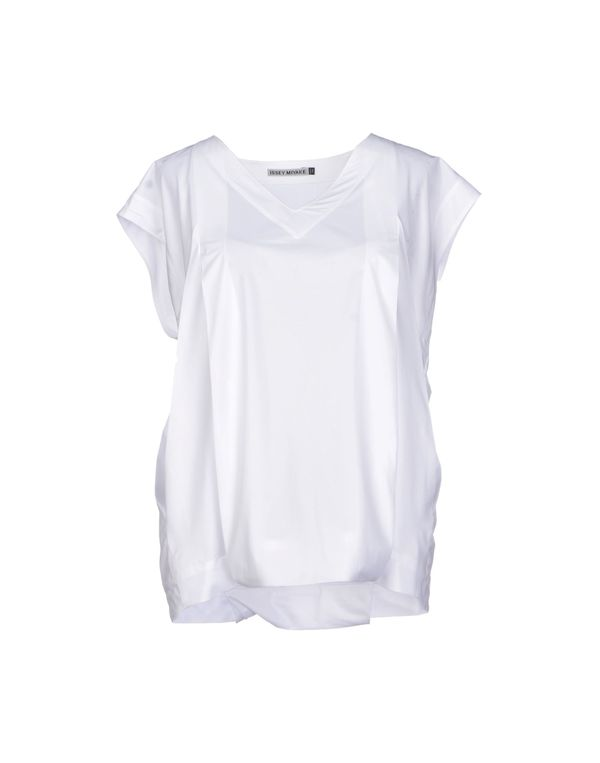 白色 ISSEY MIYAKE 女士衬衫